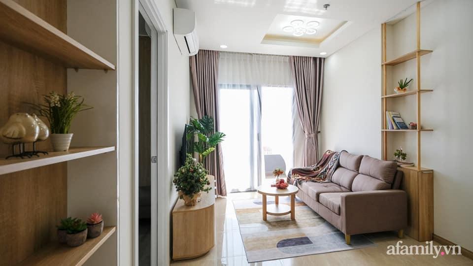 Căn hộ 75m² view sông Hàn đắt giá nhưng được thiết kế nội thất bình dị, ấm áp có chi phí 78 triệu đồng ở TP Đà Nẵng - Ảnh 8.
