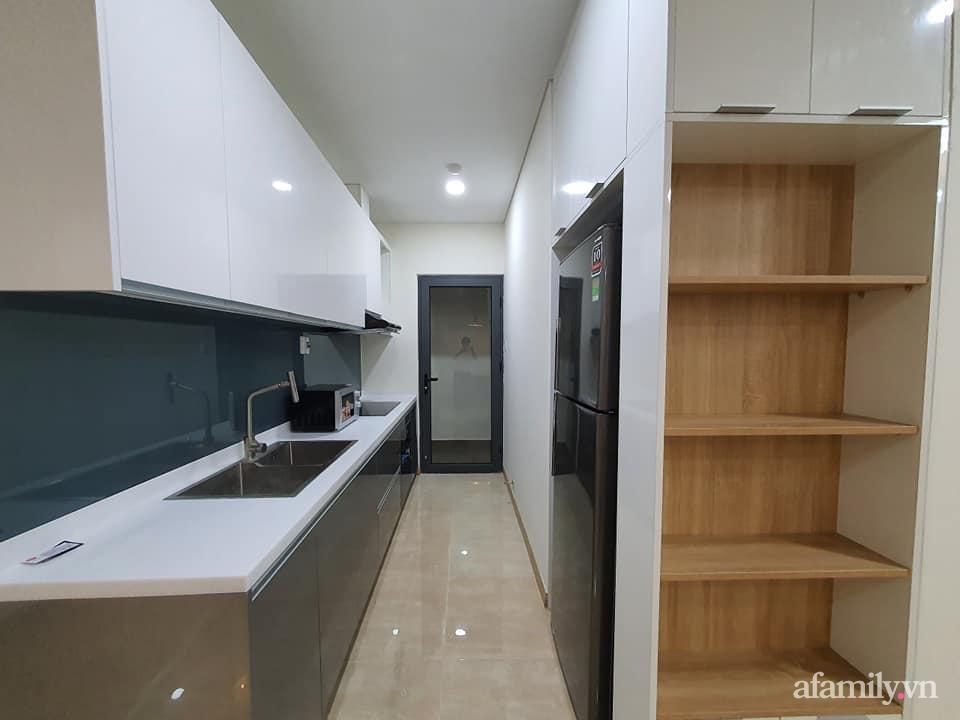 Căn hộ 75m² view sông Hàn đắt giá nhưng được thiết kế nội thất bình dị, ấm áp có chi phí 78 triệu đồng ở TP Đà Nẵng - Ảnh 11.