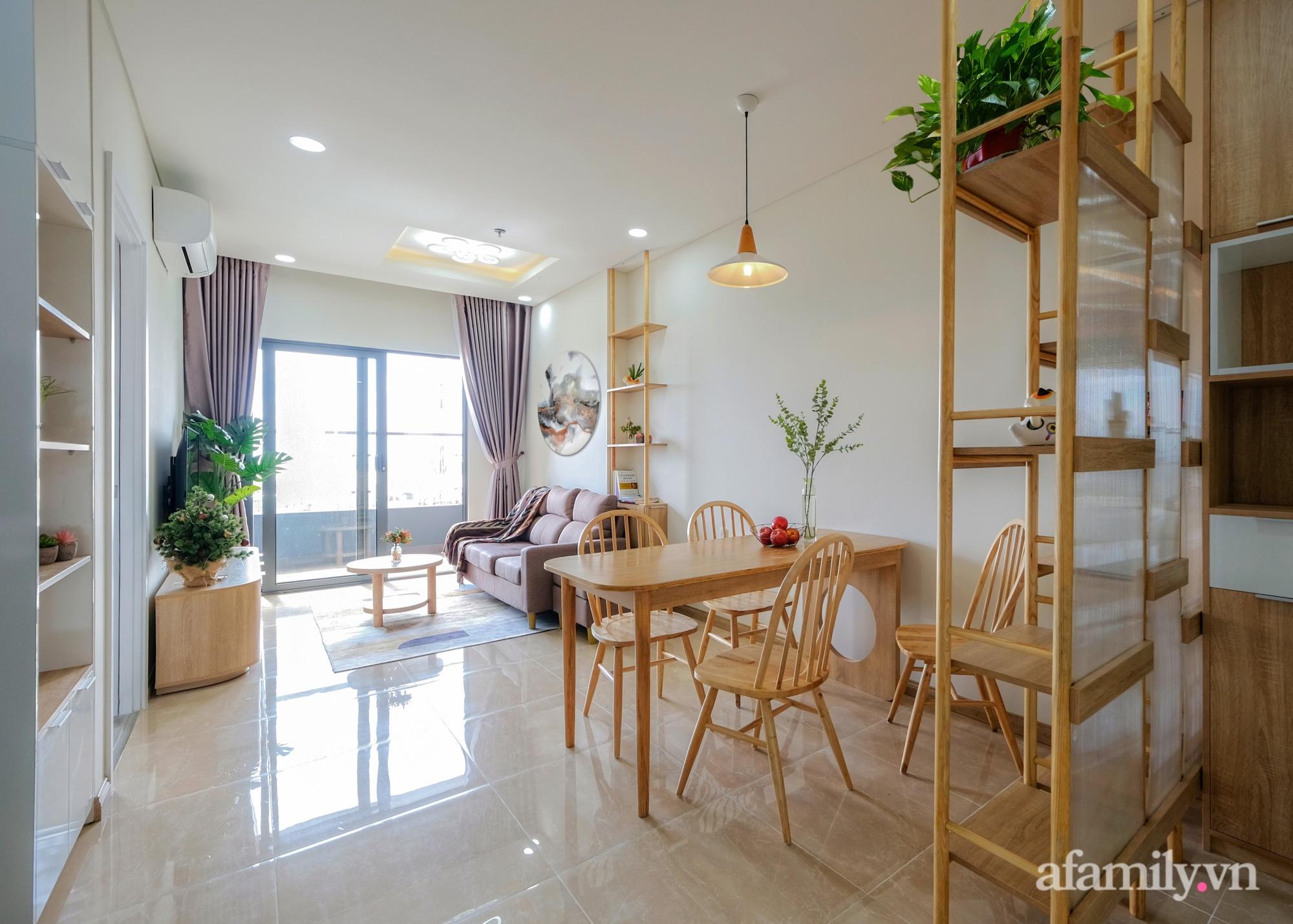 Căn hộ 75m² view sông Hàn đắt giá nhưng được thiết kế nội thất bình dị, ấm áp có chi phí 78 triệu đồng ở TP Đà Nẵng - Ảnh 3.