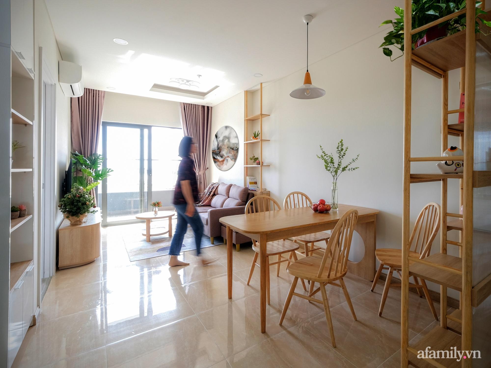 Căn hộ 75m² view sông Hàn đắt giá nhưng được thiết kế nội thất bình dị, ấm áp có chi phí 78 triệu đồng ở TP Đà Nẵng - Ảnh 4.