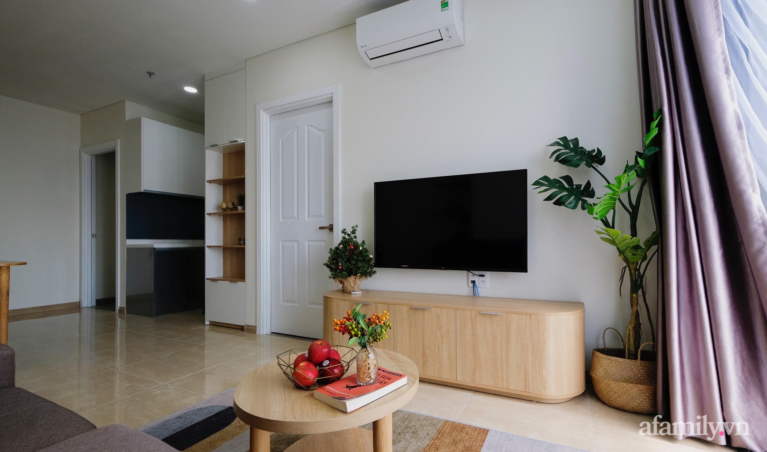 Căn hộ 75m² view sông Hàn đắt giá nhưng được thiết kế nội thất bình dị, ấm áp có chi phí 78 triệu đồng ở TP Đà Nẵng - Ảnh 7.