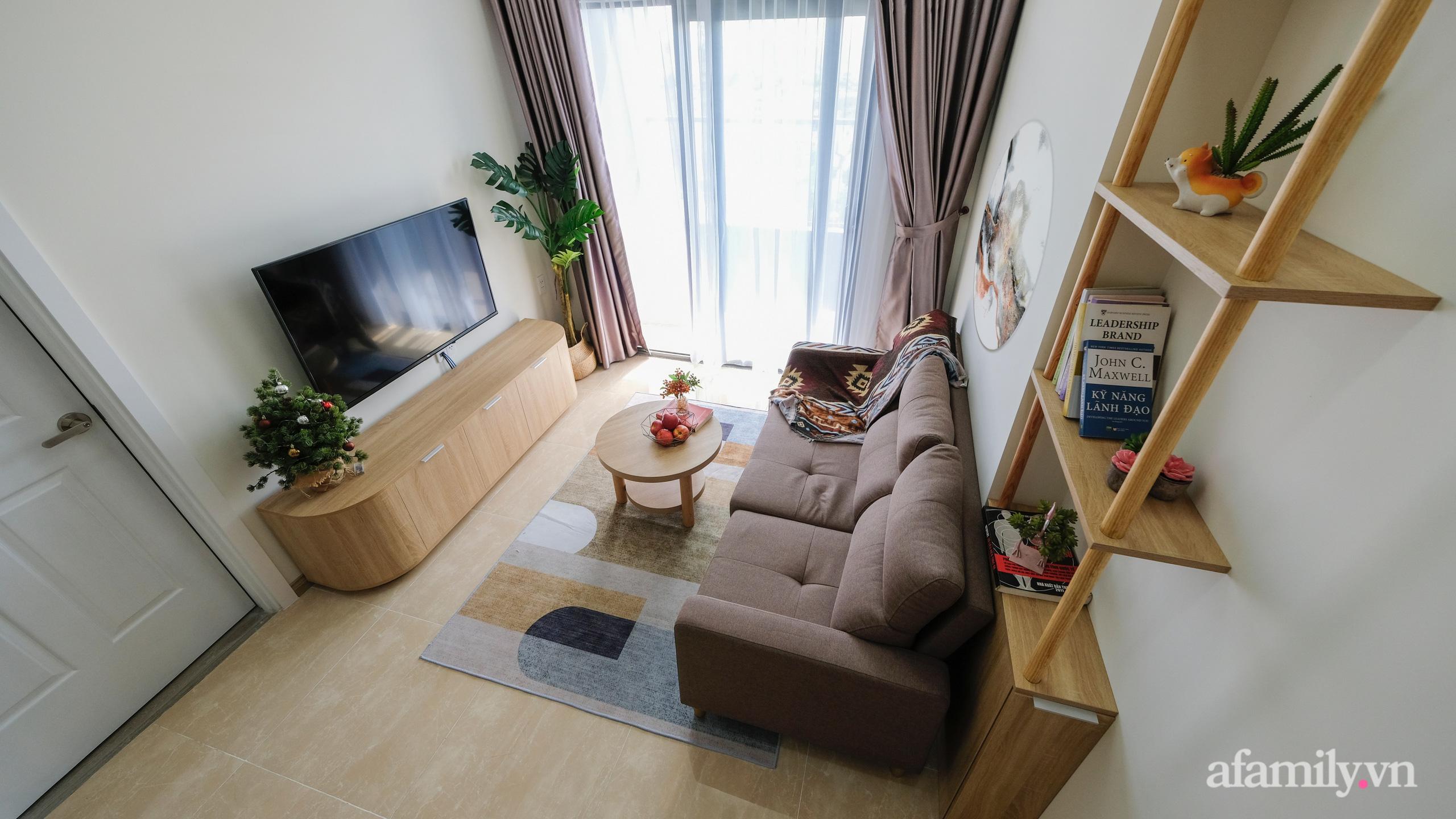 Căn hộ 75m² view sông Hàn đắt giá nhưng được thiết kế nội thất bình dị, ấm áp có chi phí 78 triệu đồng ở TP Đà Nẵng - Ảnh 1.