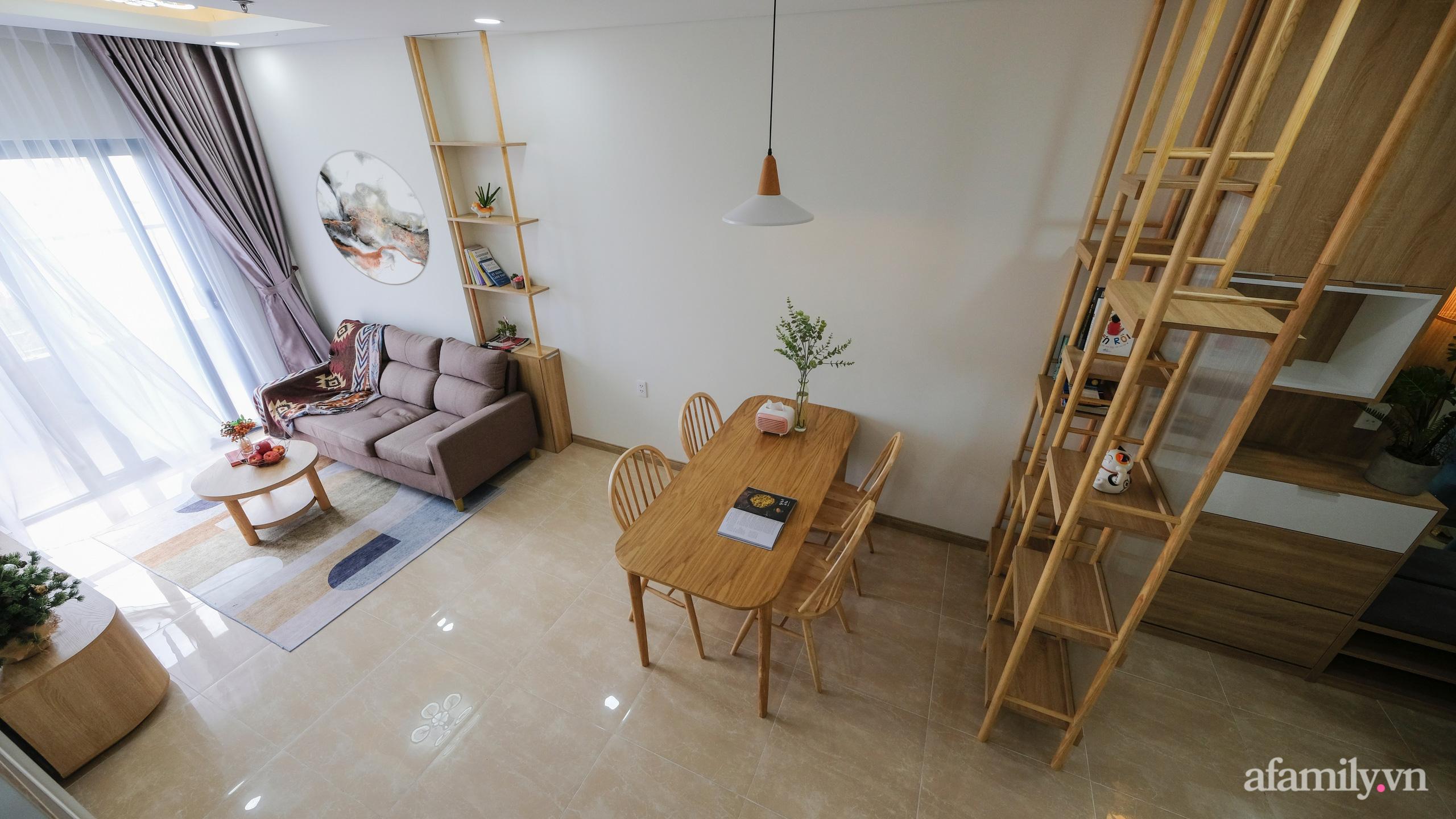 Căn hộ 75m² view sông Hàn đắt giá nhưng được thiết kế nội thất bình dị, ấm áp có chi phí 78 triệu đồng ở TP Đà Nẵng - Ảnh 2.