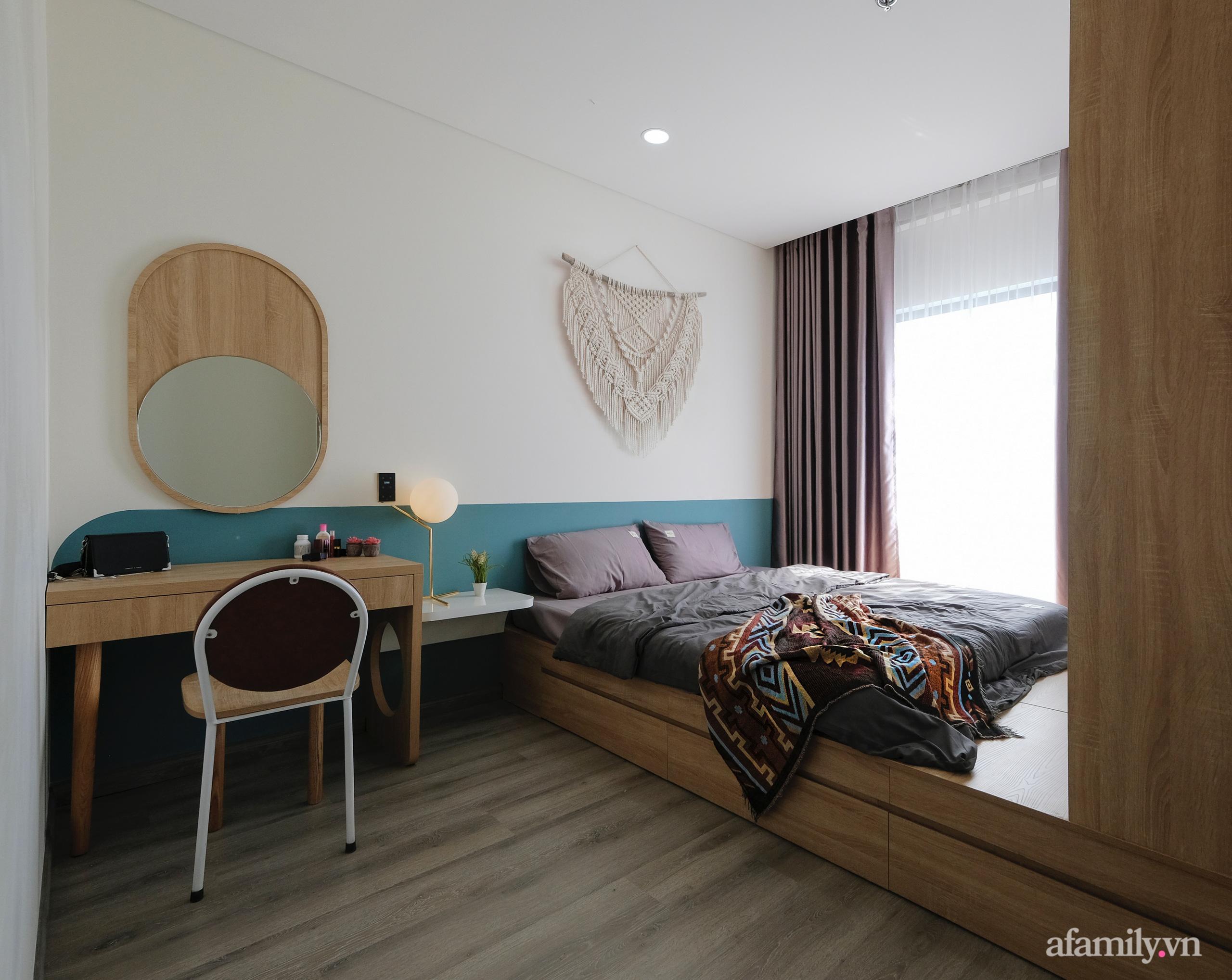 Căn hộ 75m² view sông Hàn đắt giá nhưng được thiết kế nội thất bình dị, ấm áp có chi phí 78 triệu đồng ở TP Đà Nẵng - Ảnh 15.