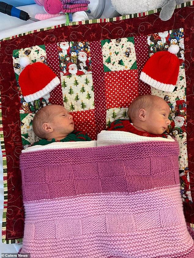 Tan chảy với khoảnh khắc kỳ diệu của cặp đôi sinh non ôm nhau khi vừa chào đời - Ảnh 7.