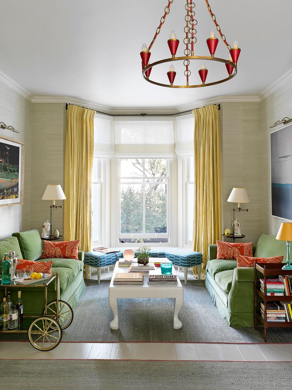 Nhà phố có không gian sống 3 trong 1 cực ấn tượng với decor màu ngập tràn sắc xuân - Ảnh 1.