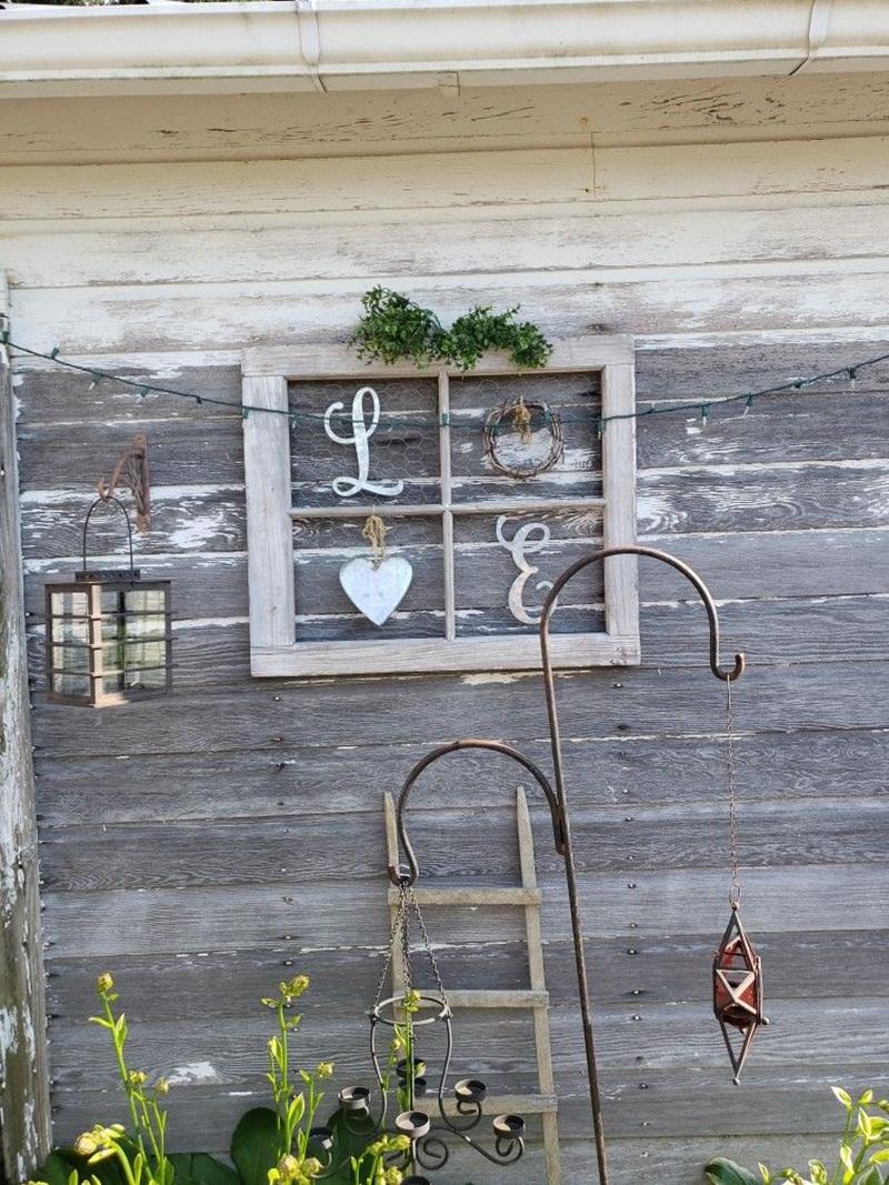 Mẹo tái sử dụng khung cửa sổ cũ trong trang trí và lưu trữ - Ảnh 11.