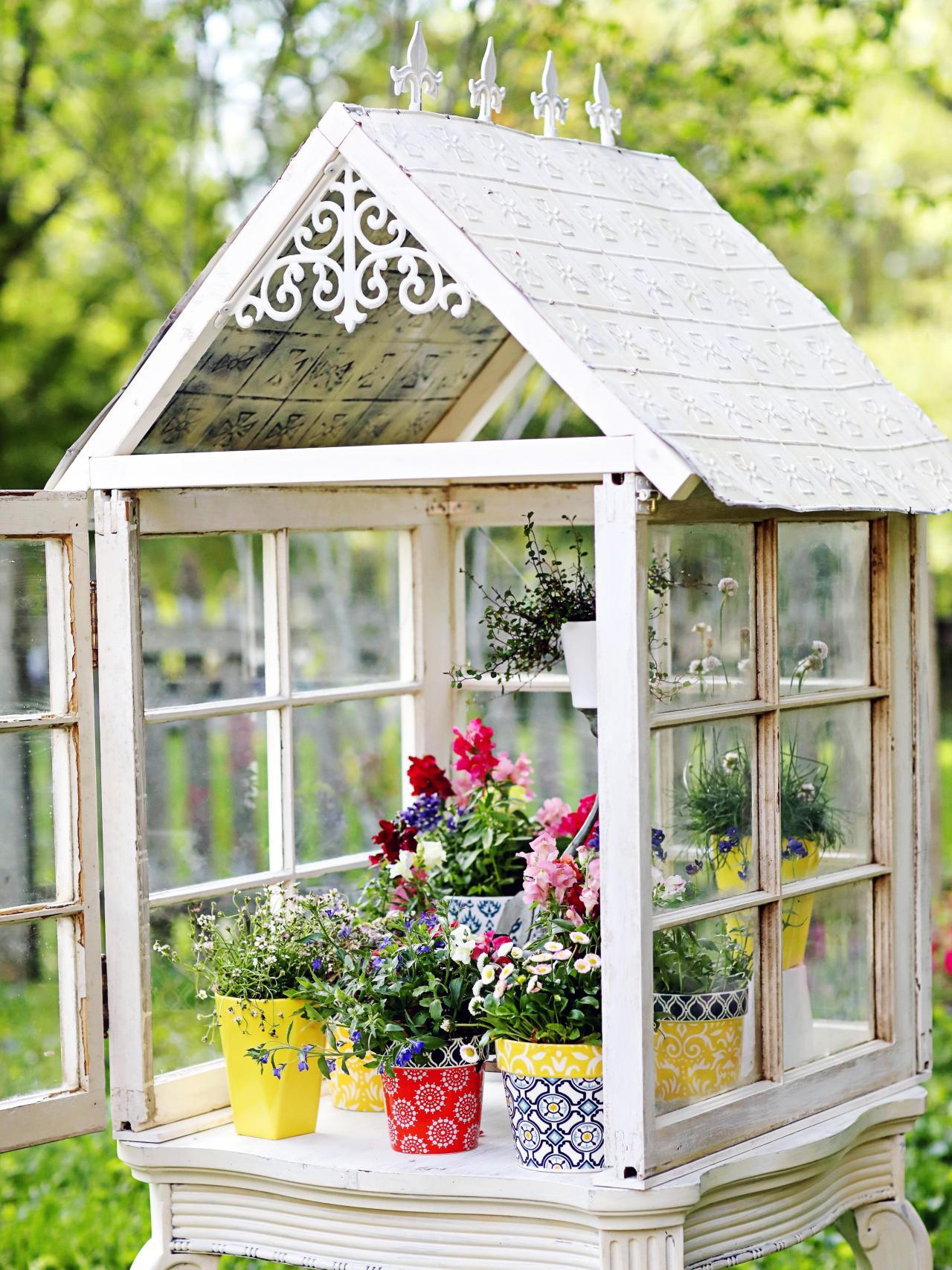 Mẹo tái sử dụng khung cửa sổ cũ trong trang trí và lưu trữ - Ảnh 10.