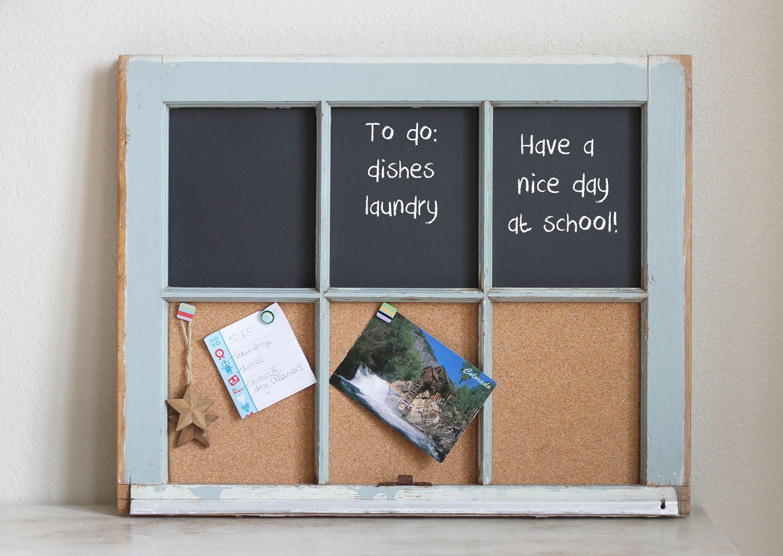 Mẹo tái sử dụng khung cửa sổ cũ trong trang trí và lưu trữ - Ảnh 3.