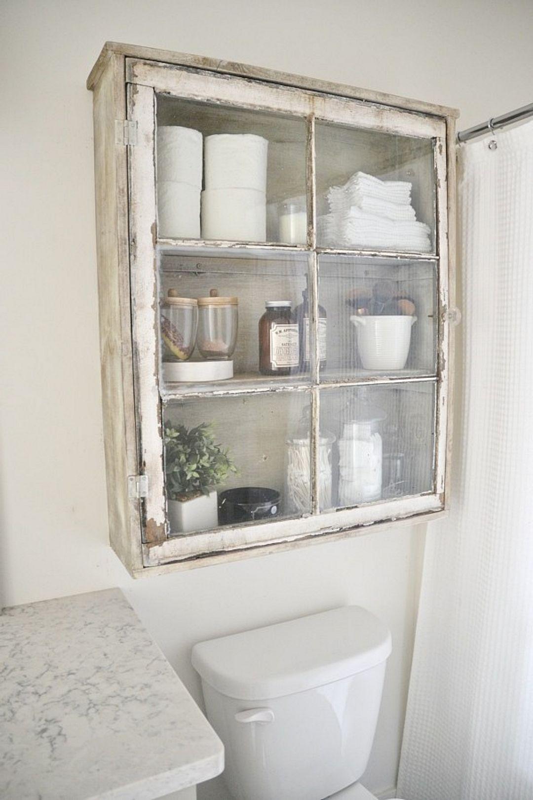Mẹo tái sử dụng khung cửa sổ cũ trong trang trí và lưu trữ - Ảnh 4.