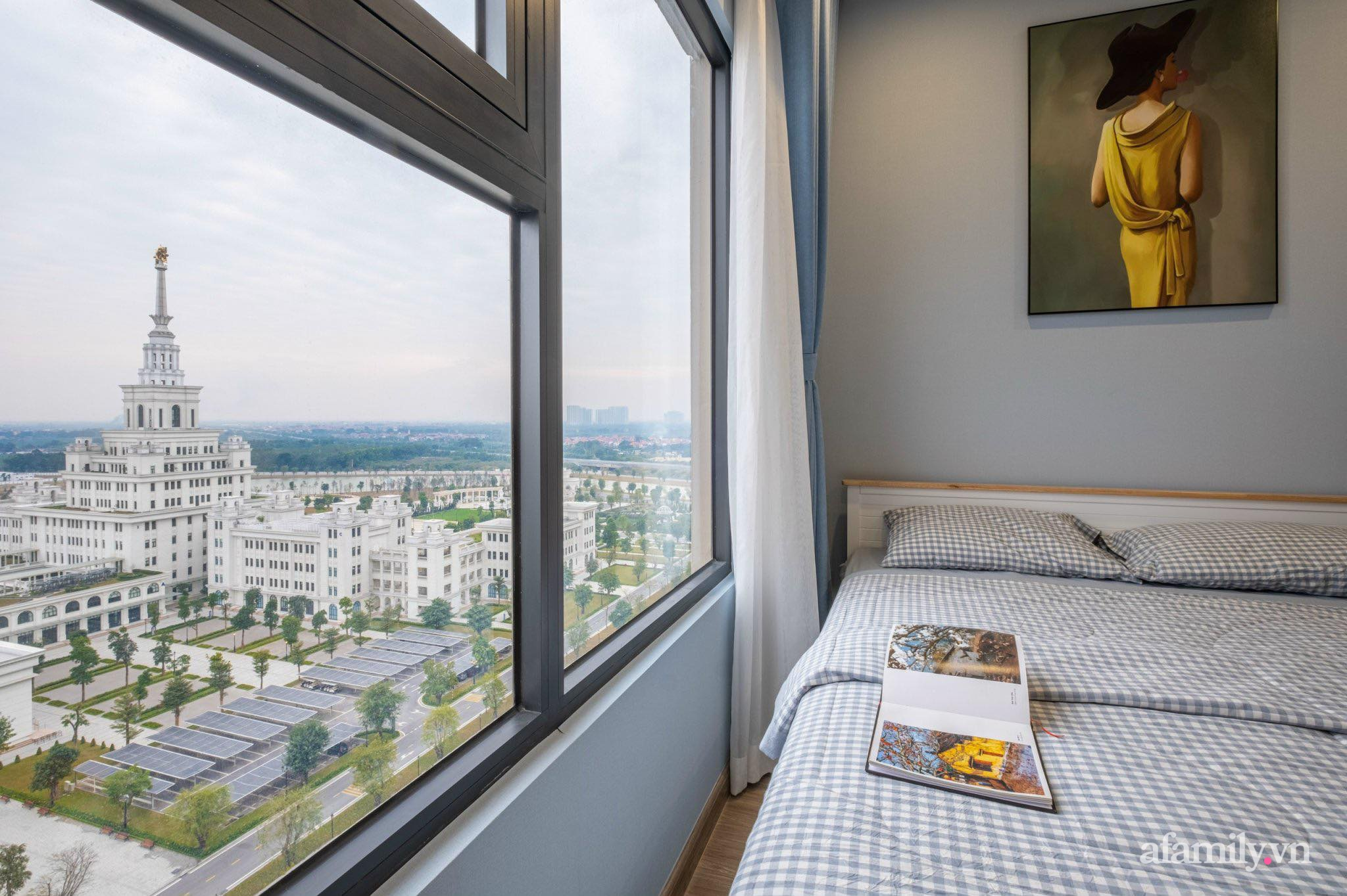 """Căn hộ ngoại ô 64m² có góc view """"siêu đỉnh"""" được decor bằng cả tâm huyết của người phụ nữ Hà Nội - Ảnh 7."""