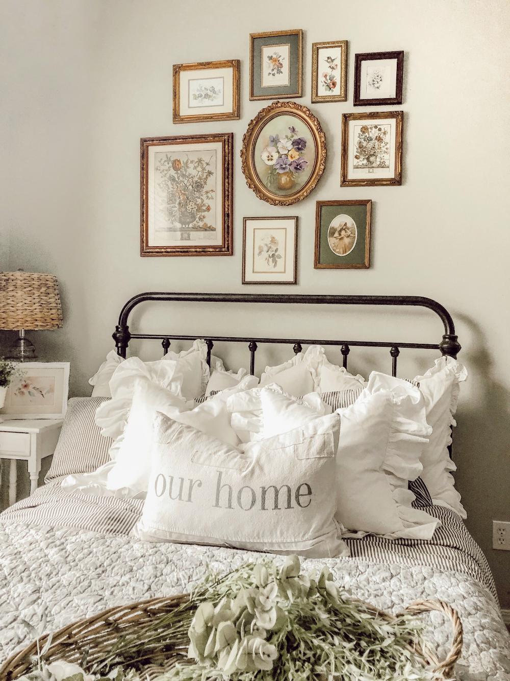 15 ý tưởng màu sắc phòng ngủ theo phong cách cổ điển ngọt ngào - Ảnh 1.
