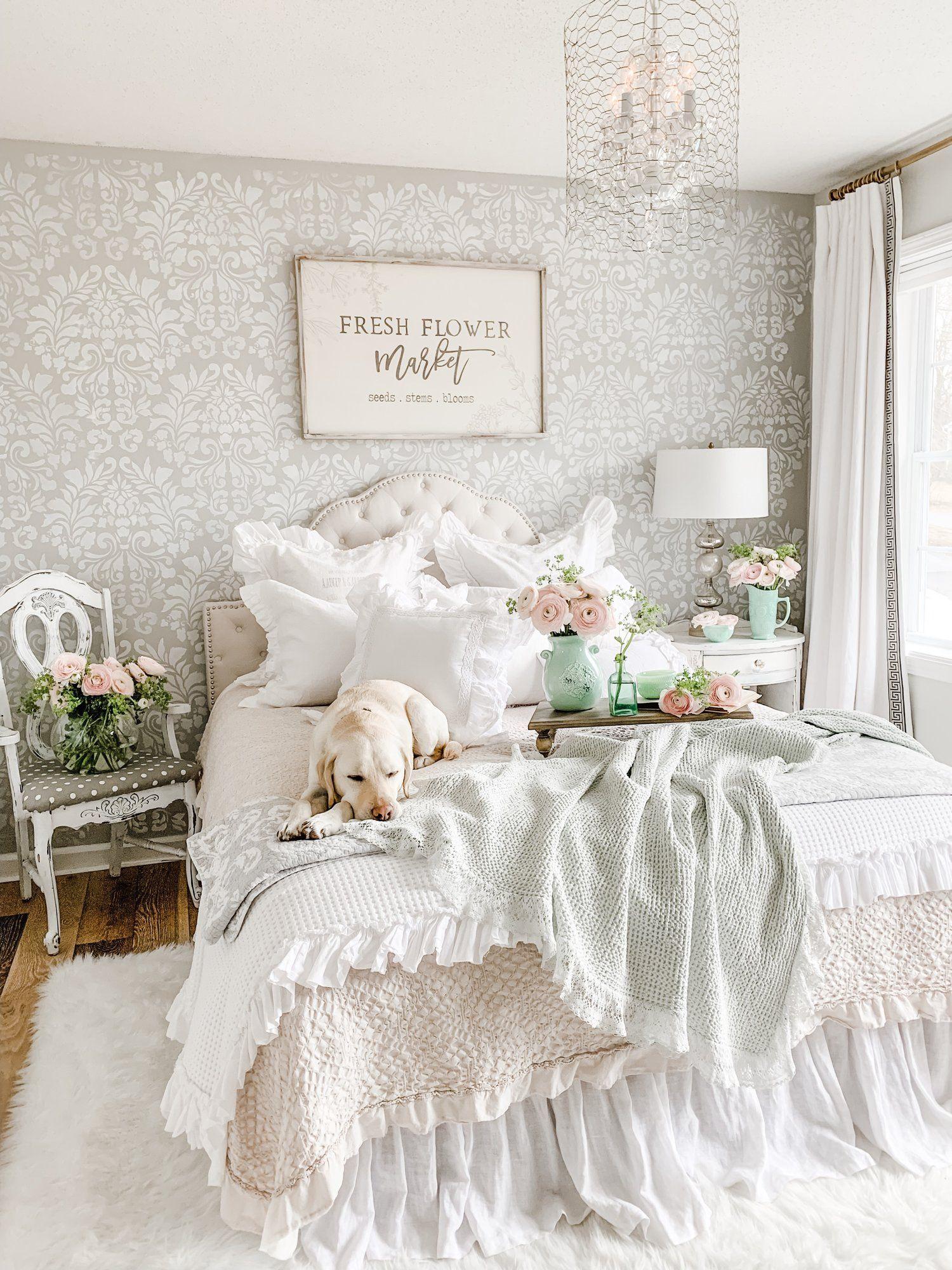 15 ý tưởng màu sắc phòng ngủ theo phong cách cổ điển ngọt ngào - Ảnh 11.