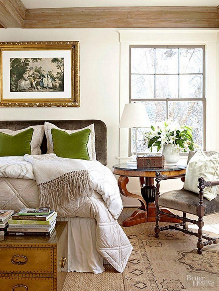 15 ý tưởng màu sắc phòng ngủ theo phong cách cổ điển ngọt ngào - Ảnh 14.