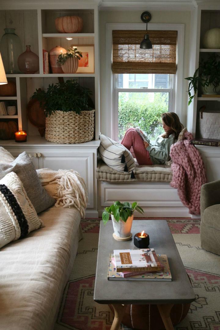 Ý tưởng điểm tô phòng khách cực xinh nhờ trang trí khung cửa sổ - Ảnh 8.