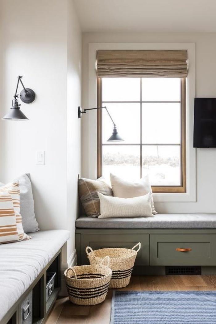 Ý tưởng điểm tô phòng khách cực xinh nhờ trang trí khung cửa sổ - Ảnh 1.