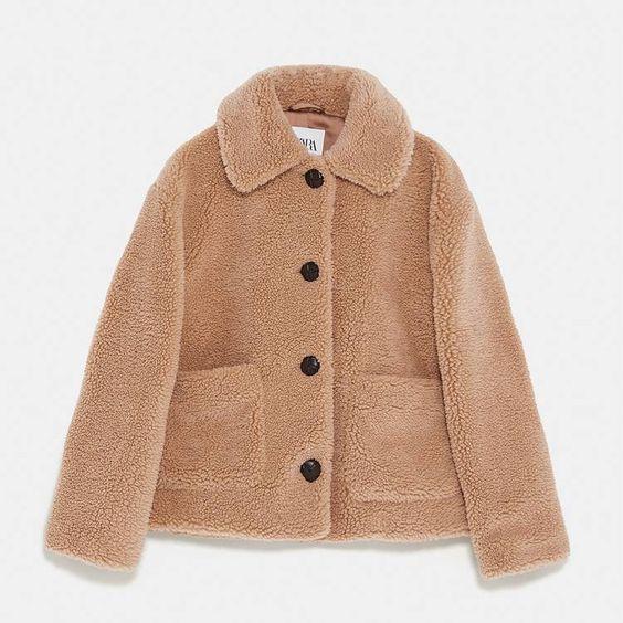 """Đu trend theo Park Min Young, Jisoo (Black Pink) diện áo khoác bông, cô nàng ghé qua Zara và tìm được 6 mẫu áo """"ưng bụng"""" nhất - Ảnh 3."""