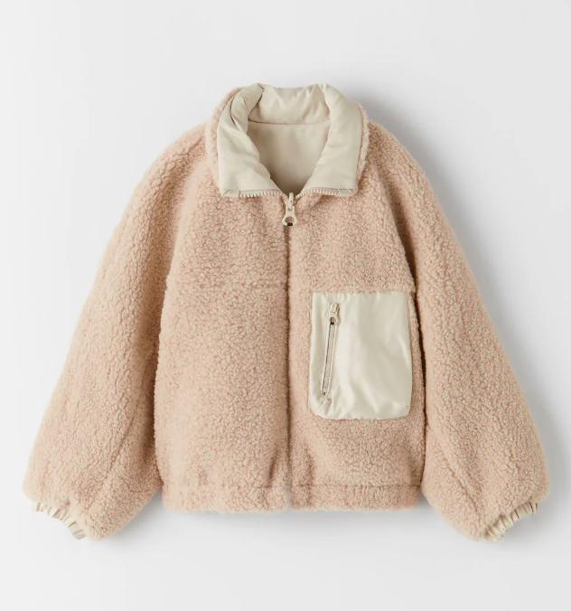 """Đu trend theo Park Min Young, Jisoo (Black Pink) diện áo khoác bông, cô nàng ghé qua Zara và tìm được 6 mẫu áo """"ưng bụng"""" nhất - Ảnh 5."""