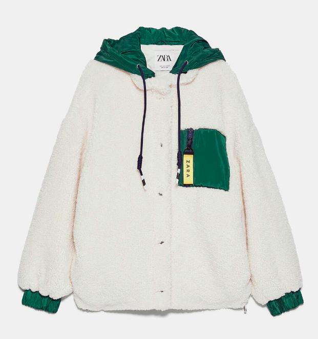 """Đu trend theo Park Min Young, Jisoo (Black Pink) diện áo khoác bông, cô nàng ghé qua Zara và tìm được 6 mẫu áo """"ưng bụng"""" nhất - Ảnh 13."""