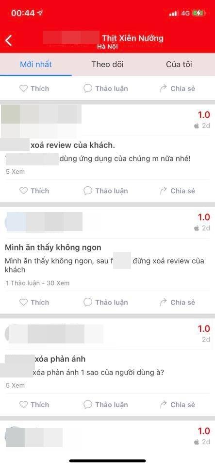 Google và app gọi đồ ăn đồng loạt xóa nhiều đánh giá của khách về quán thịt xiên nướng Chùa Láng chửi mắng shipper!? - Ảnh 4.