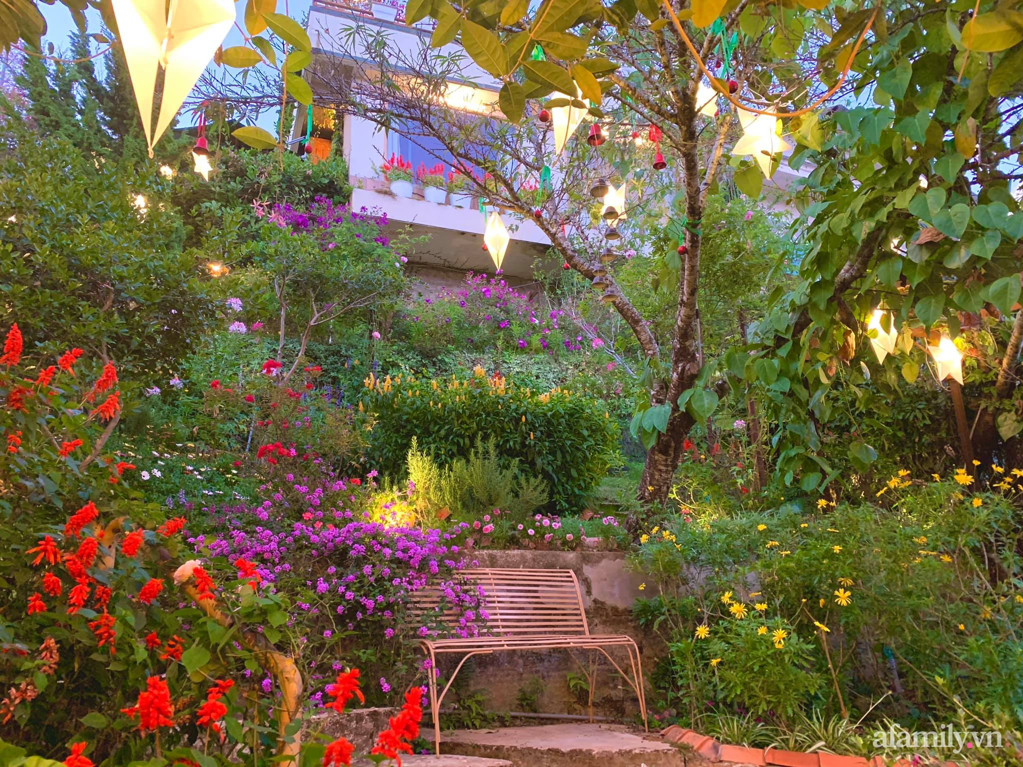 Ngôi nhà nhỏ yên bình sở hữu khu vườn đẹp như xứ sở thần tiên giữa lưng chừng đồi ở Đà Lạt - Ảnh 20.