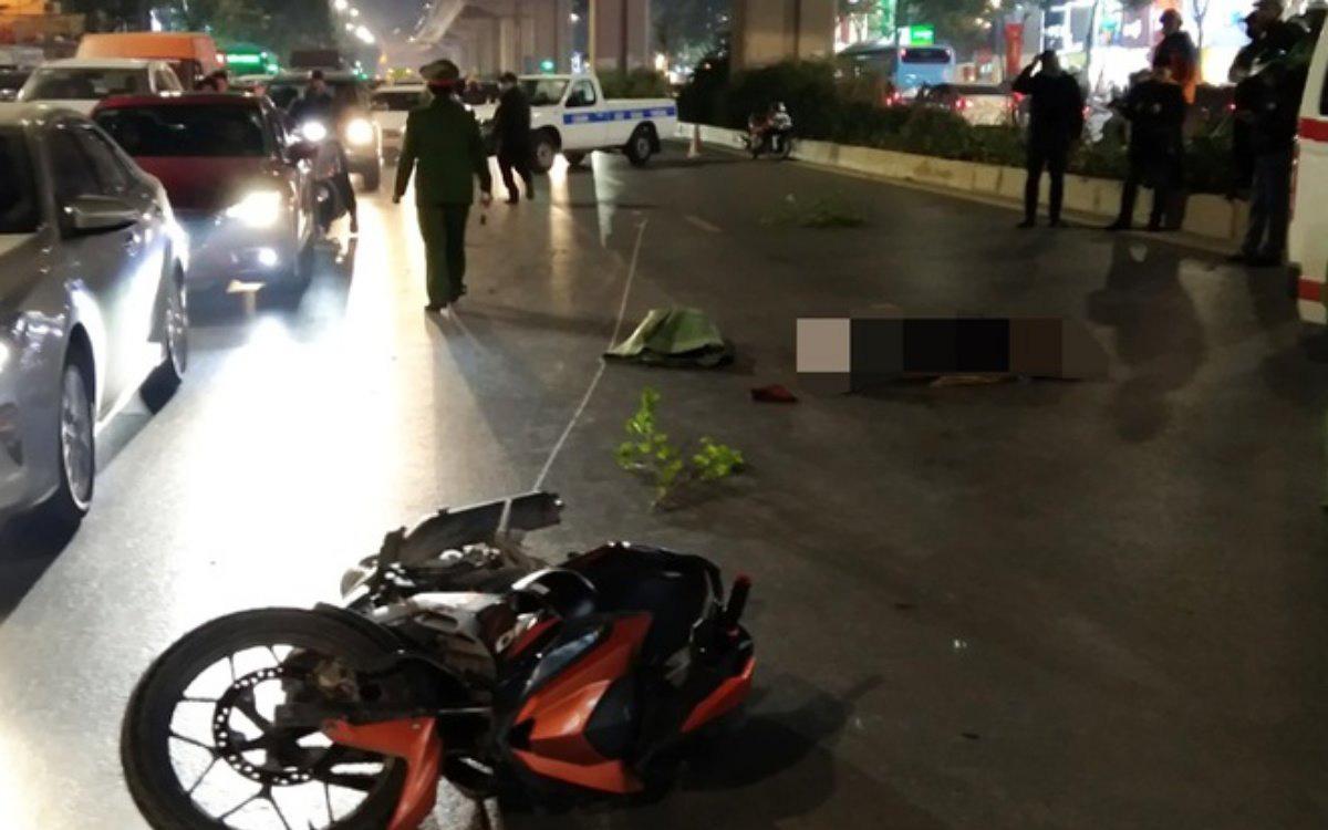 Hà Nội: Tạm giữ người đàn ông 30 tuổi để làm rõ vụ tai nạn khiến 2 người tử vong