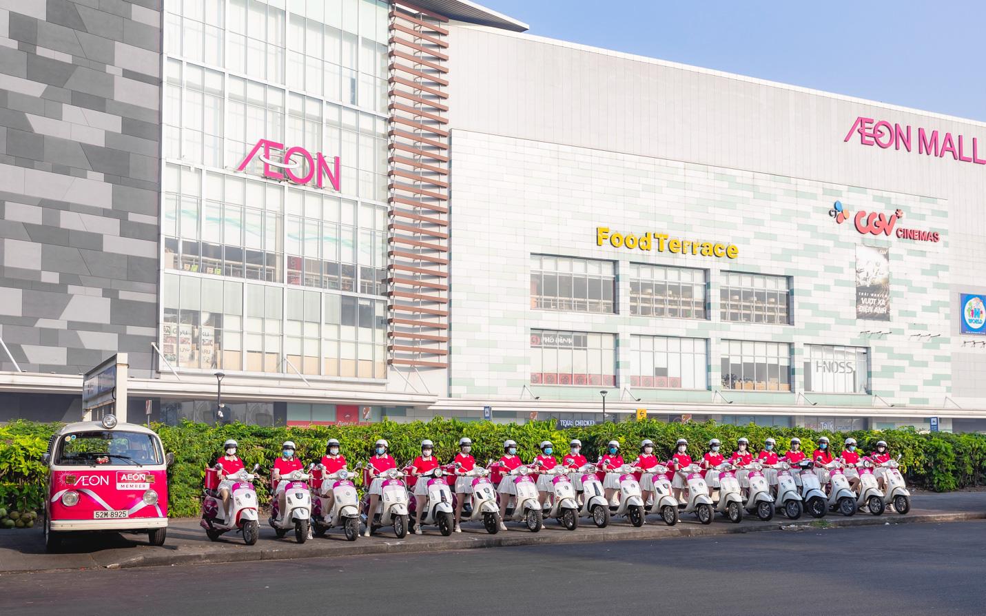 Hành trình trao quà đầy cảm xúc tới 500 thành viên của AEON Việt Nam