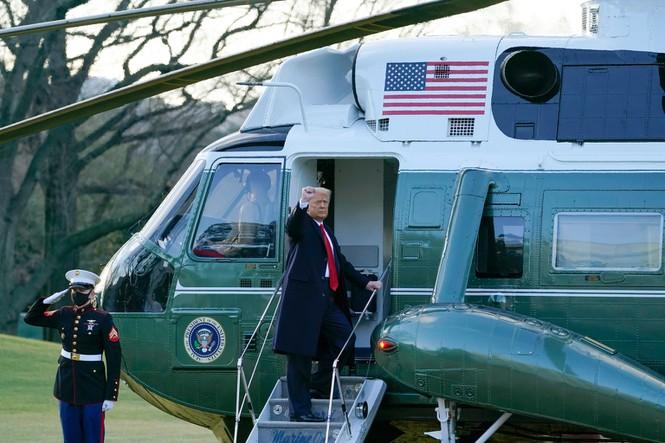 Ông Trump nói gì khi rời Nhà Trắng lần cuối cùng với tư cách Tổng thống Mỹ? - Ảnh 4.