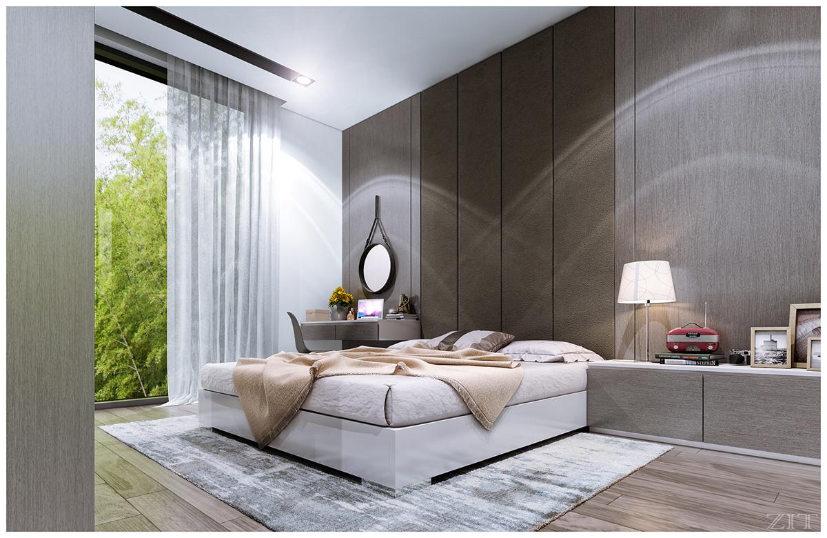 Kiến trúc sư vấn thiết kế căn hộ 67m² 3 phòng ngủ với chi phí 93 triệu đồng - Ảnh 11.