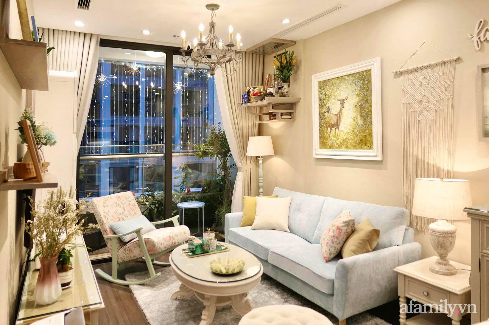 """Căn hộ siêu dễ thương decor theo phong cách Vintage được chủ nhà hoàn thiện """"vội"""" trong 10 ngày ở Hà Nội - Ảnh 3."""