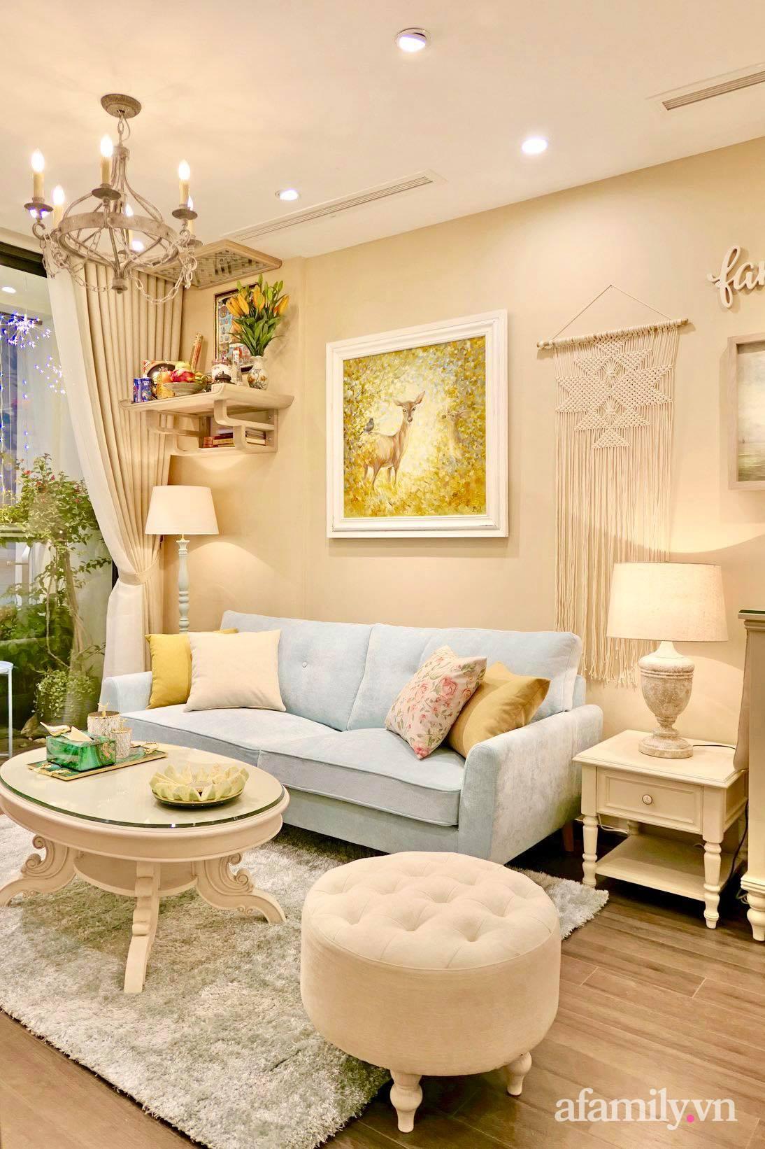 """Căn hộ siêu dễ thương decor theo phong cách Vintage được chủ nhà hoàn thiện """"vội"""" trong 10 ngày ở Hà Nội - Ảnh 5."""