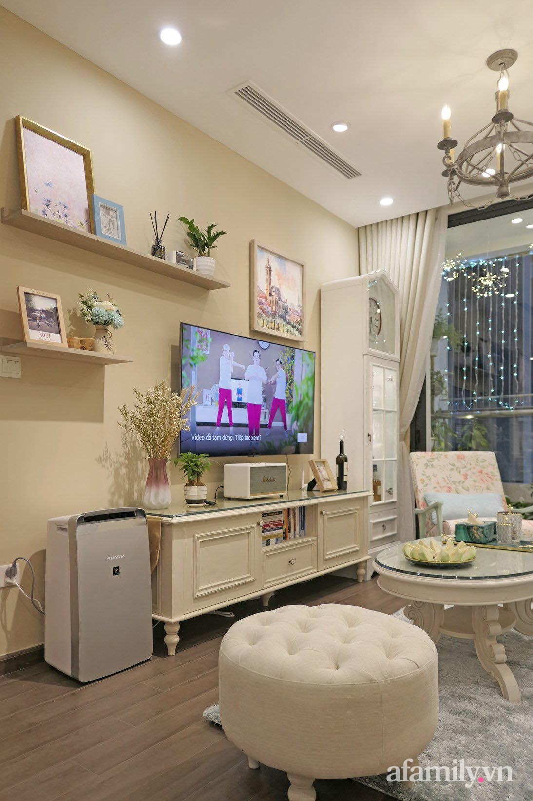 """Căn hộ siêu dễ thương decor theo phong cách Vintage được chủ nhà hoàn thiện """"vội"""" trong 10 ngày ở Hà Nội - Ảnh 9."""