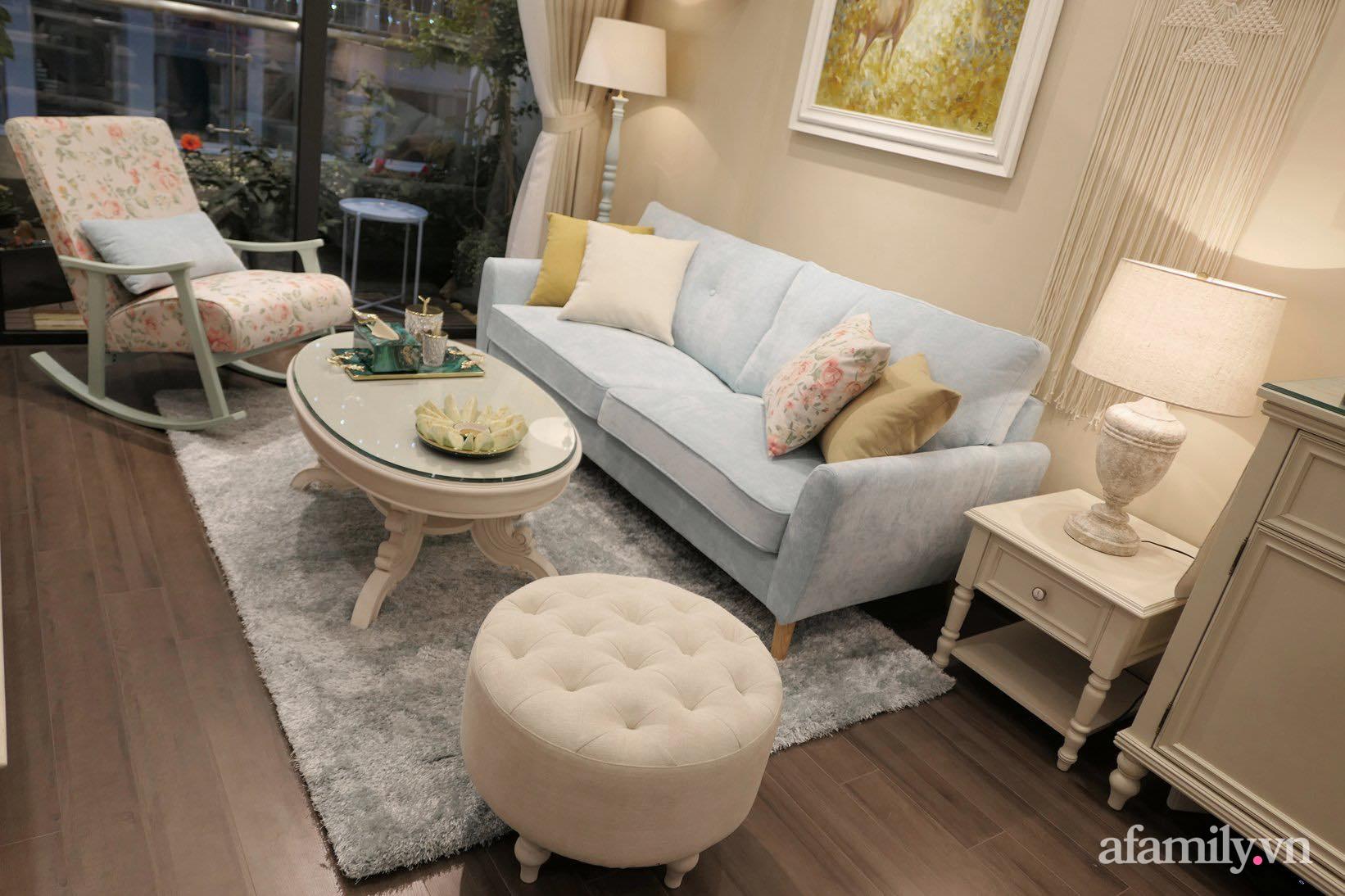 """Căn hộ siêu dễ thương decor theo phong cách Vintage được chủ nhà hoàn thiện """"vội"""" trong 10 ngày ở Hà Nội - Ảnh 4."""