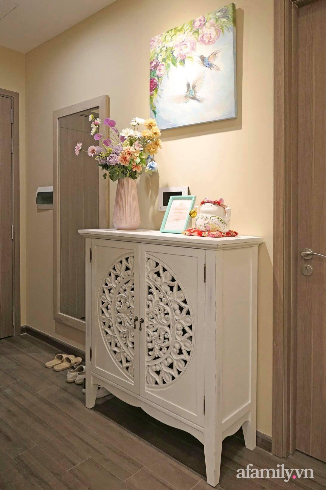 """Căn hộ siêu dễ thương decor theo phong cách Vintage được chủ nhà hoàn thiện """"vội"""" trong 10 ngày ở Hà Nội - Ảnh 15."""
