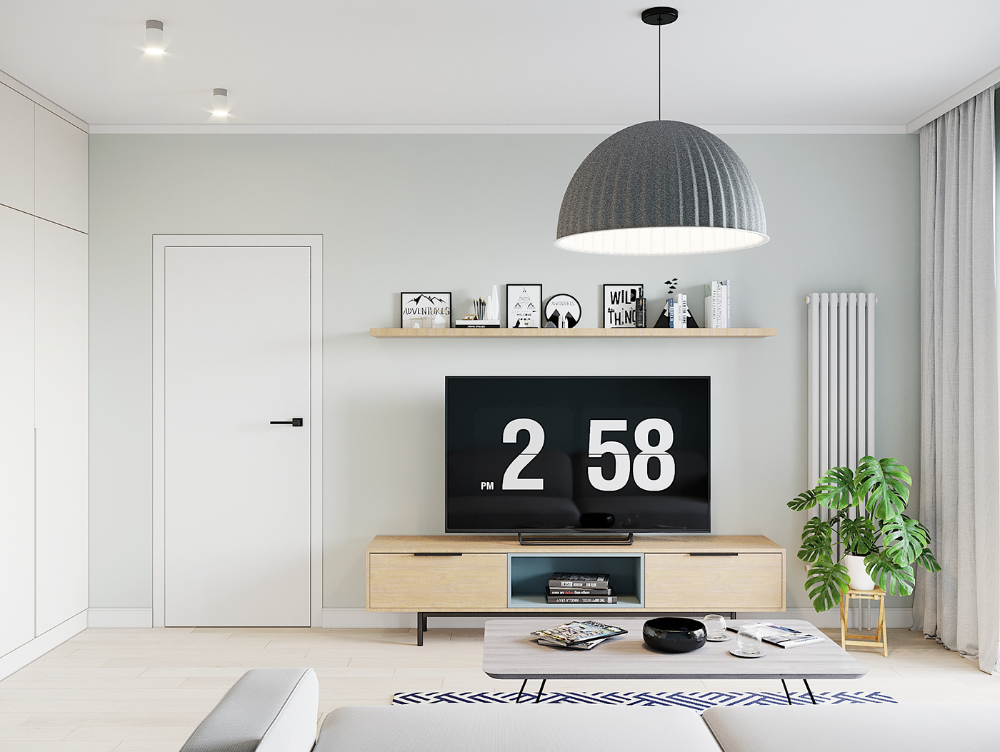 Kiến trúc sư vấn thiết kế căn hộ 67m² 3 phòng ngủ với chi phí 93 triệu đồng - Ảnh 3.