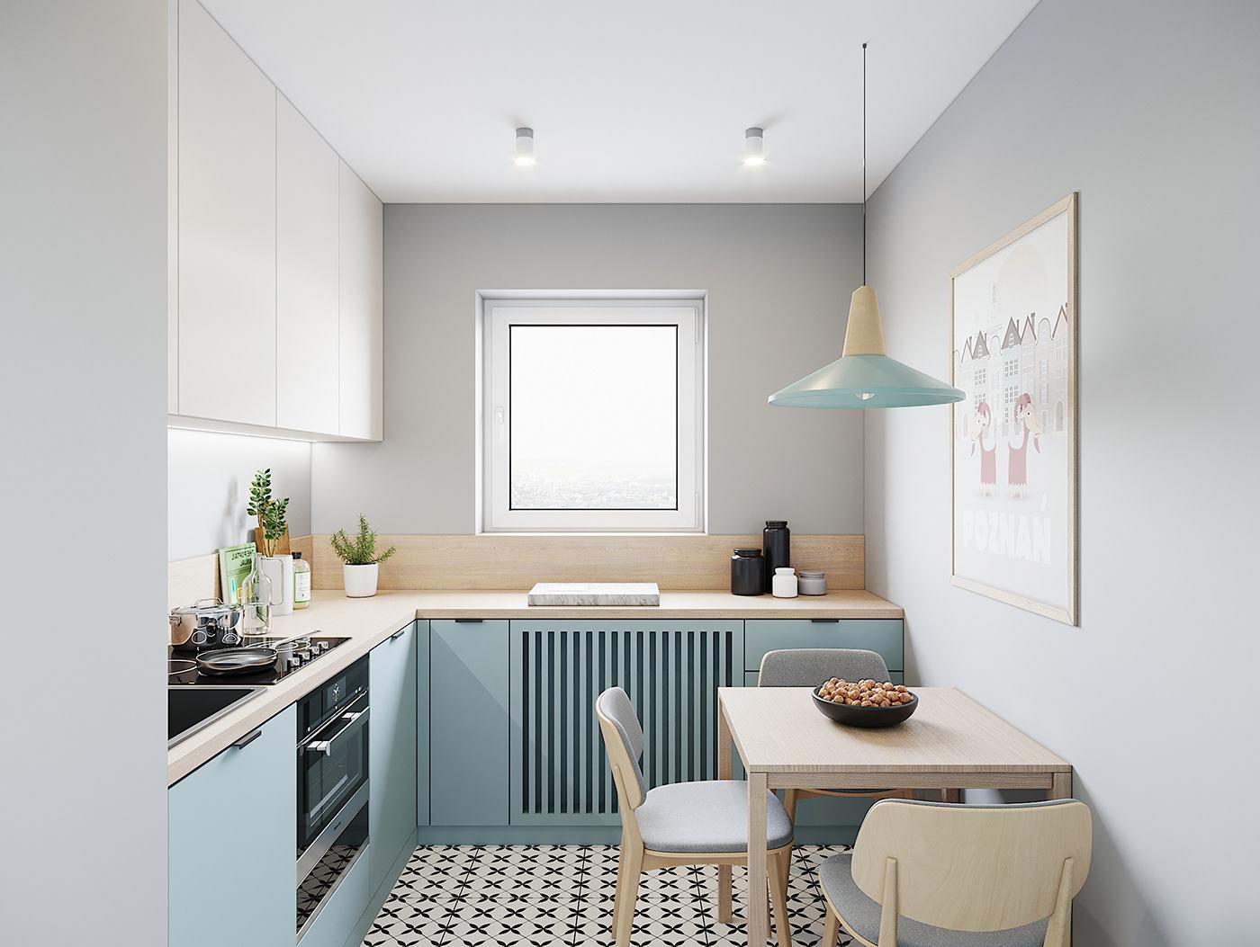 Kiến trúc sư vấn thiết kế căn hộ 67m² 3 phòng ngủ với chi phí 93 triệu đồng - Ảnh 6.