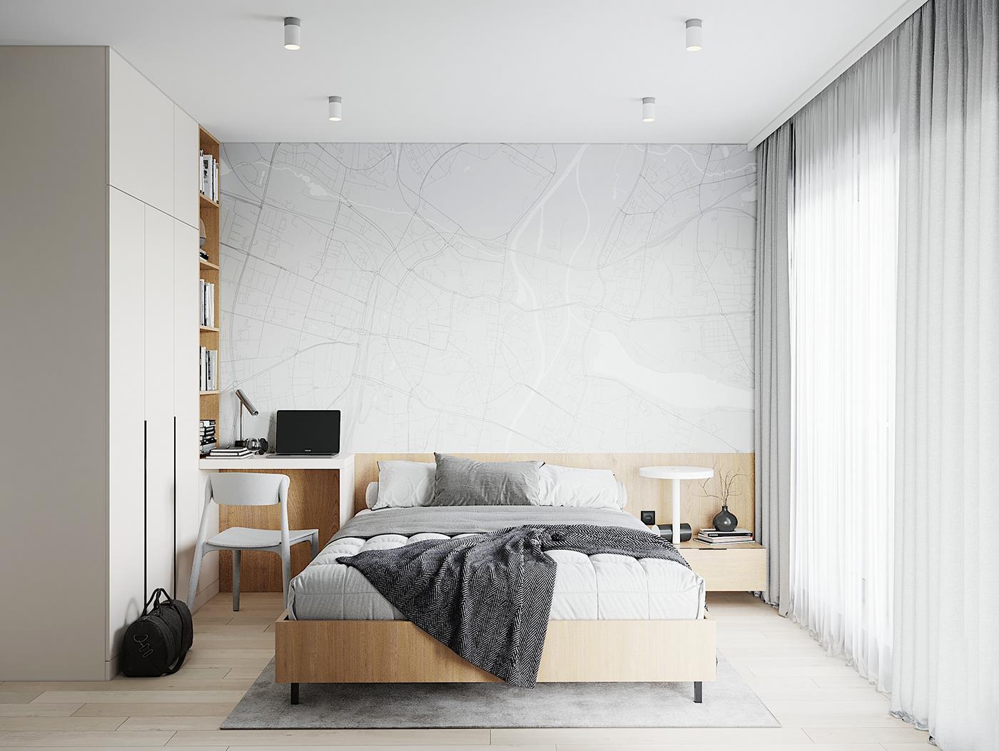 Kiến trúc sư vấn thiết kế căn hộ 67m² 3 phòng ngủ với chi phí 93 triệu đồng - Ảnh 7.