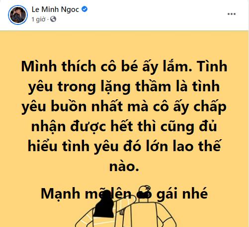 """Loạt sao Việt đăng bài """"bóng gió"""" về vụ ồn ào tình ái của Sơn Tùng - Thiều Bảo Trâm: Cảm xúc từ thất vọng đến phẫn nộ đều có đủ - Ảnh 7."""