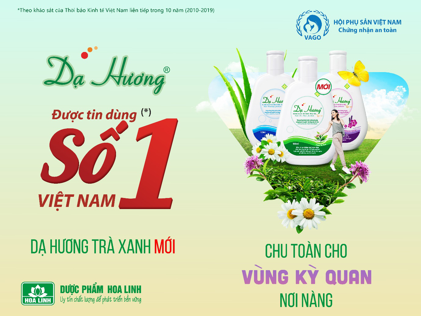 Dạ Hương giữ vững vị thế được tin dùng số 1 Việt Nam 12 năm liên tiếp - Ảnh 2.