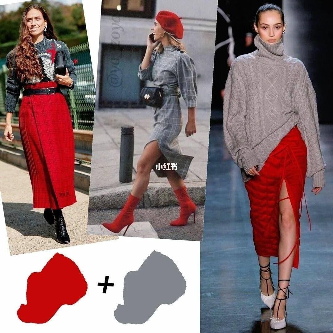 Mùa Đông thì hay mặc đồ xám rồi nhưng để không xám xịt già nua thì bạn nên mix cùng 8 gam màu này - Ảnh 5.