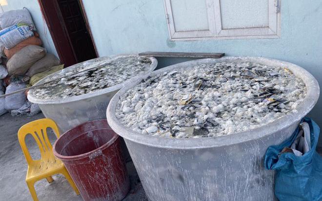 Bắc Giang: Kinh doanh hàng chục tấn chất thải nguy hại, đôi nam nữ bị phạt gần nửa tỷ đồng