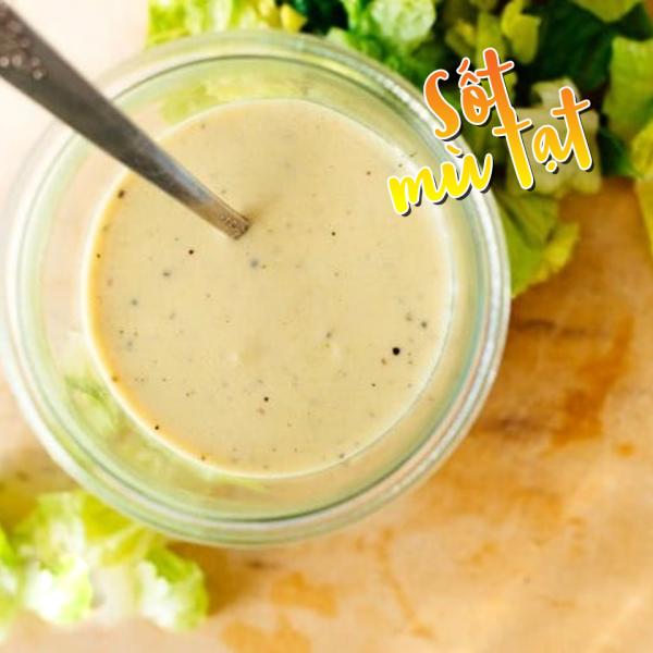 """Hội nghiện rau mê salad nhất định không thể bỏ qua 6 cách làm nước sốt cực """"mlem mlem"""" này: Thao tác đơn giản, cân được tất tần tật các loại salad trên đời! - Ảnh 6."""