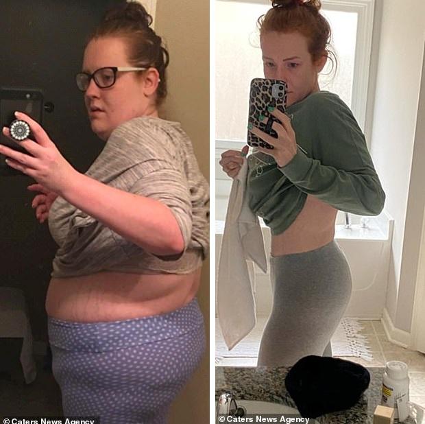 Nặng hơn 124kg sau khi sinh 2 con, bà mẹ đã quyết tâm giảm 69,8kg chỉ trong vòng 10 tháng để lấy lại vóc dáng vạn người mê - Ảnh 5.