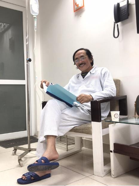 Nghệ sĩ Giang Còi xác nhận bị ung thư họng đã đến mức di căn - Ảnh 2.