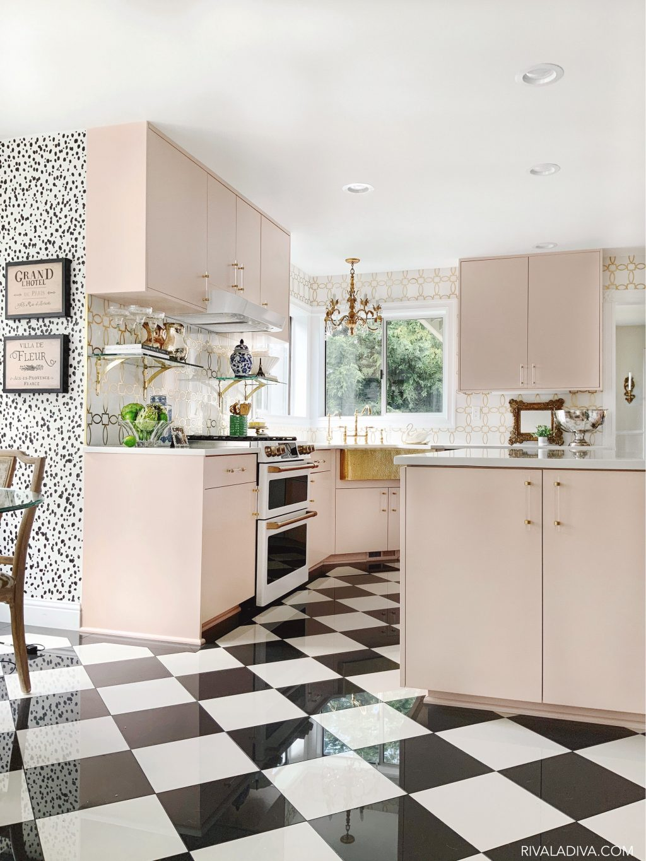Những mẫu phòng bếp màu hồng đầy nữ tính và quyến rũ - Ảnh 10.