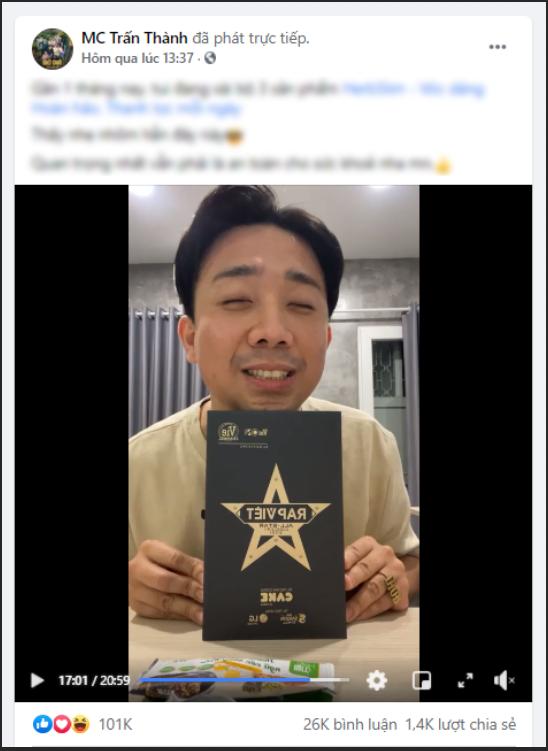 Trấn Thành cùng dàn Sao Việt thi nhau khoe tham dự Live Concert Rap Việt All-Star - Ảnh 1.