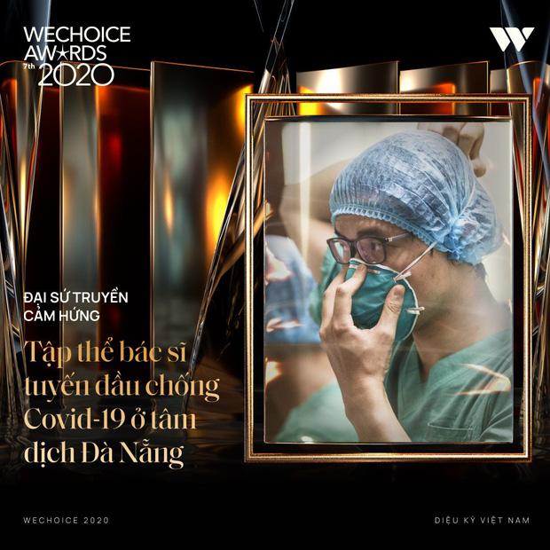 Tập thể bác sĩ tuyến đầu chống Covid-19 ở tâm dịch Đà Nẵng và GS.TS Lê Thị Quỳnh Mai giành giải Đại sứ truyền cảm hứng tại Wechoice Award - Ảnh 4.