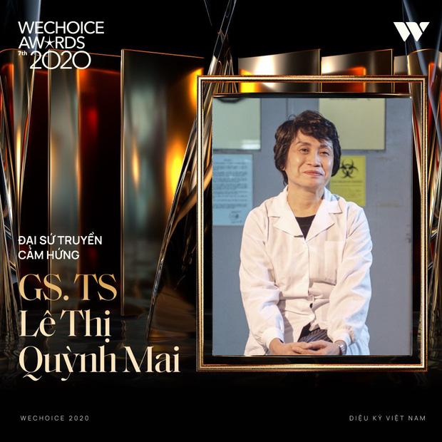 Tập thể bác sĩ tuyến đầu chống Covid-19 ở tâm dịch Đà Nẵng và GS.TS Lê Thị Quỳnh Mai giành giải Đại sứ truyền cảm hứng tại Wechoice Award - Ảnh 6.
