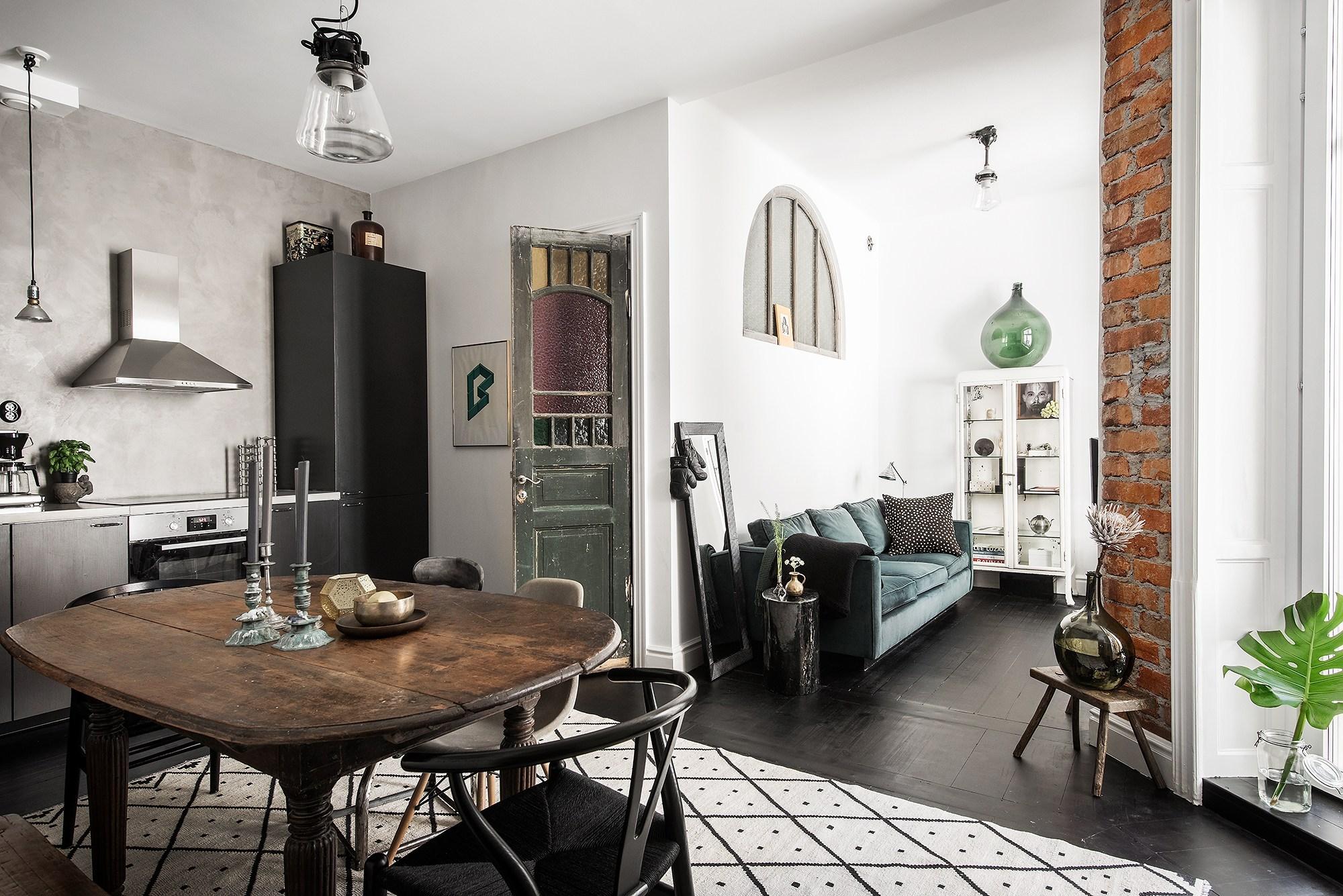 Tận dụng đồ cũ, căn hộ 42m² vẫn đẹp cá tính từng góc nhỏ - Ảnh 3.