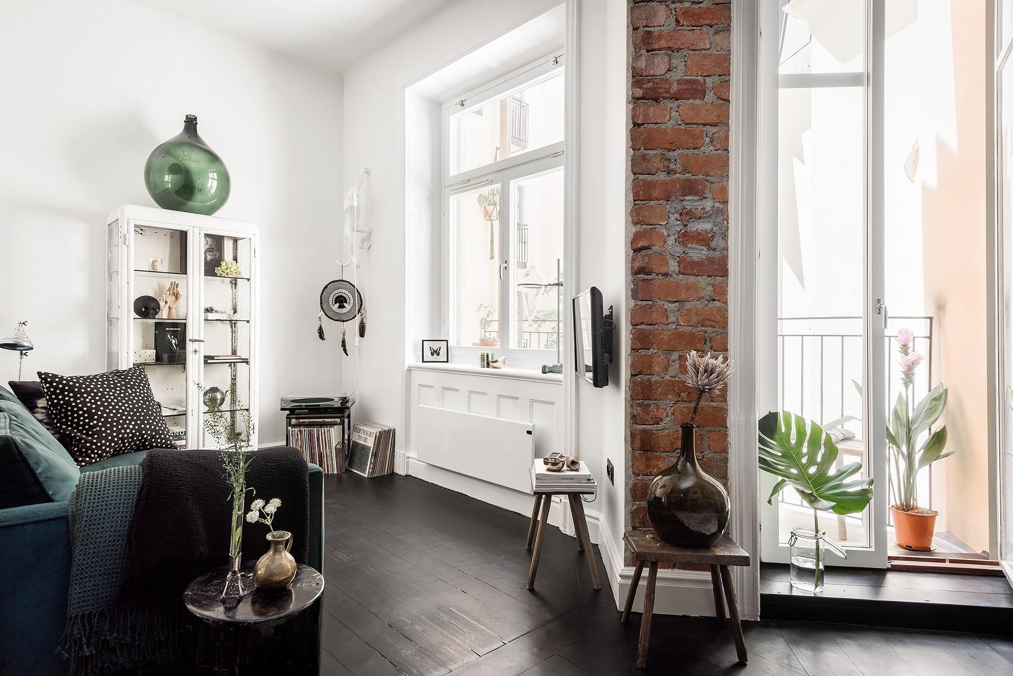 Tận dụng đồ cũ, căn hộ 42m² vẫn đẹp cá tính từng góc nhỏ - Ảnh 7.